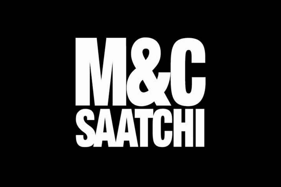 AIM-listed, London-based Europe company, M&C Saatchi logo
